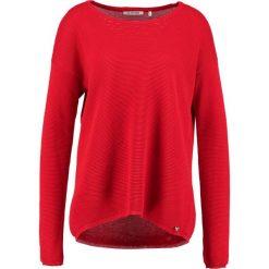Swetry klasyczne damskie: Rich & Royal Sweter lipstick red