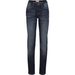 Dżinsy ze stretchem CLASSIC bonprix ciemnoniebieski. Niebieskie jeansy damskie bonprix. Za 79,99 zł.
