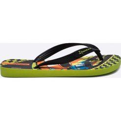 Ipanema - Japonki dziecięce. Brązowe sandały chłopięce Ipanema, z materiału. W wyprzedaży za 27,90 zł.