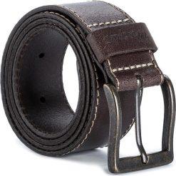 Pasek Męski WRANGLER - Stitched Belt W0081US85 85 Brown. Brązowe paski męskie Wrangler, w paski, ze skóry. Za 109,00 zł.