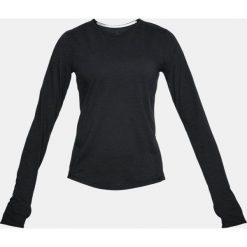 Under Armour Koszulka Threadborne Swyft Ling Sleeve czarny r. L (1318422-001). Czarne topy sportowe damskie marki Under Armour, l. Za 144,34 zł.