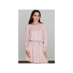 Sukienki: Sukienka M576 Różowy