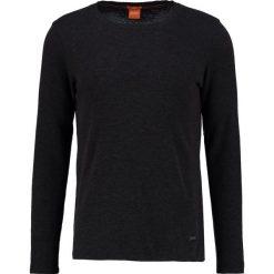Swetry klasyczne męskie: BOSS Orange TERRIS SLIM FIT Sweter black
