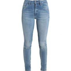 GStar SHAPE HIGH SUPER SKINNY Jeans Skinny Fit medium aged. Niebieskie jeansy damskie relaxed fit marki G-Star, z bawełny. Za 559,00 zł.