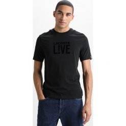 Lacoste LIVE Tshirt z nadrukiem black. Białe koszulki polo marki Lacoste LIVE, m, z bawełny. Za 239,00 zł.
