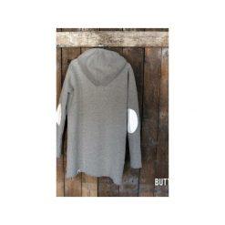 Swetry rozpinane męskie: CARDIGAN BUTTON CHUNKY kolory łaty aeb670