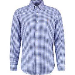 Polo Ralph Lauren CORE FIT Koszula blue/white. Szare koszule męskie marki Polo Ralph Lauren, l, z bawełny, button down, z długim rękawem. Za 439,00 zł.
