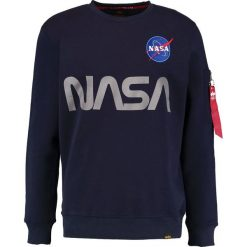Bejsbolówki męskie: Alpha Industries NASA REFLECTIVE Bluza blue