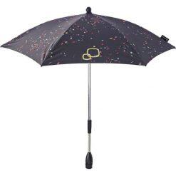 Parasole: Parasol w kolorze czarnym ze wzorem do wózka