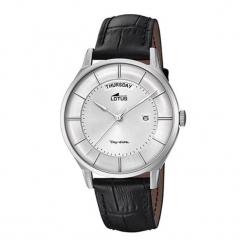 """Zegarek """"18420/2"""" w kolorze czarno-srebrnym. Czarne, analogowe zegarki męskie NIXON & ESPRIT, srebrne. W wyprzedaży za 359,95 zł."""
