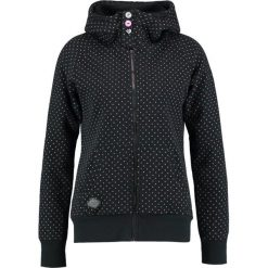 Odzież damska: Ragwear CHELSEA DOTS ZIP Bluza rozpinana black