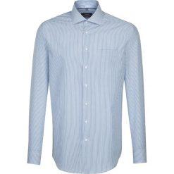 Koszule męskie na spinki: Koszula – Modern fit – w kolorze błękitno-białym