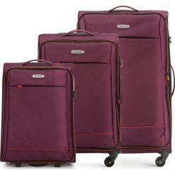 Zestaw walizek 56-3S-46S-35. Czerwone walizki marki Wittchen, duże. Za 685,41 zł.