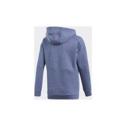 Bluzy dresowe Dziecko adidas  Bluza z kapturem ID Stadium. Niebieskie bluzy chłopięce rozpinane marki Adidas, z dresówki. Za 229,00 zł.