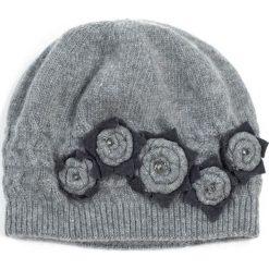 Czapka damska Flower garden szara. Czarne czapki zimowe damskie marki BIG STAR, z gumy. Za 75,74 zł.