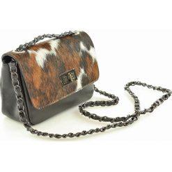 FIFI Torebka listonoszka skórzana z klapką. Brązowe torby na ramię męskie marki MAZZINI, ze skóry, małe. Za 160,00 zł.