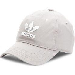 Czapka z daszkiem adidas - Trefoil Cap BK7282 Mgsogr/White. Czarne czapki z daszkiem damskie marki Adidas, do piłki nożnej. Za 69,95 zł.