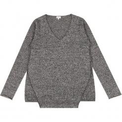 Sweter kaszmirowy w kolorze szarym. Szare swetry klasyczne damskie marki Ateliers de la Maille, z kaszmiru. W wyprzedaży za 500,95 zł.