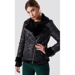 Glamorous Kurtka motocyklowa Perfect - Black. Różowe kurtki damskie marki Glamorous, z nadrukiem, z asymetrycznym kołnierzem, asymetryczne. Za 404,95 zł.