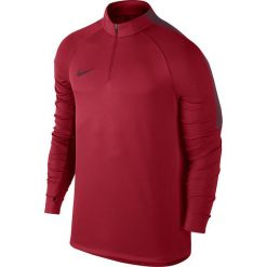 Odzież sportowa męska: Nike Koszulka męska Squad czerwona r. S (807063 687)