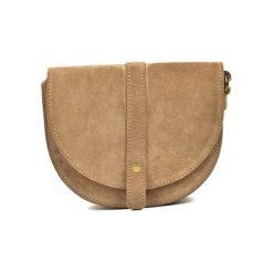 Torebka w kolorze beżowym - (S)22 x (W)18,5 x (G)6 cm. Brązowe torebki klasyczne damskie Bestsellers bags, w paski, z materiału. W wyprzedaży za 199,95 zł.