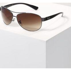Okulary przeciwsłoneczne męskie aviatory: RayBan Okulary przeciwsłoneczne gunmetal/brown gradient