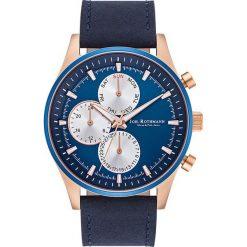 """Zegarki męskie: Zegarek kwarcowy Joh. Rothmann """"Ansgar"""" w kolorze niebiesko-różowozłotym"""