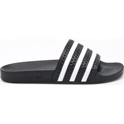 Adidas Originals - Klapki. Szare klapki męskie adidas Originals, z materiału. Za 149,90 zł.