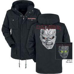 Iron Maiden EMP Signature Collection Kurtka czarny. Czarne kurtki męskie Iron Maiden, xl, z aplikacjami. Za 649,90 zł.