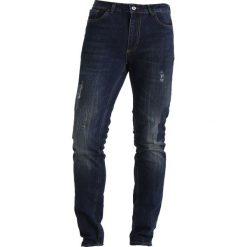Pier One Jeansy Slim Fit darkblue denim. Niebieskie jeansy męskie marki Pier One. Za 149,00 zł.