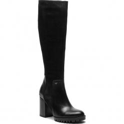 Kozaki WOJAS - 8724-51 Czarny. Czarne buty zimowe damskie Wojas, z nubiku. W wyprzedaży za 479,00 zł.