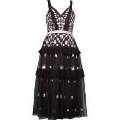 Sukienki hiszpanki: Needle & Thread PRISM DRESS Sukienka koktajlowa graphite
