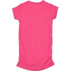 Nativo - Top dziecięcy 104-164 cm. Różowe bluzki dziewczęce Nativo, z bawełny, z okrągłym kołnierzem. W wyprzedaży za 29,90 zł.