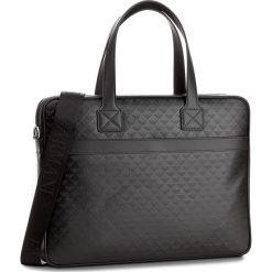 Torba na laptopa EMPORIO ARMANI - YEM823 YC043 80001 Black. Czarne plecaki męskie marki Emporio Armani. W wyprzedaży za 1529,00 zł.