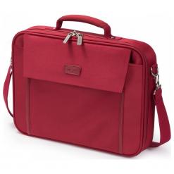 """Dicota Multi Base 14"""" - 15.6"""" czerwona. Czerwone torby na laptopa marki Dicota, z materiału. Za 79,90 zł."""
