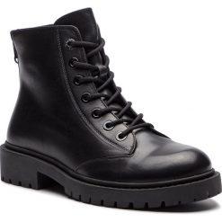 Trapery KENZO - F865BT340L62  Black 99. Czarne glany męskie marki Kenzo. Za 1729,00 zł.