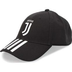 Czapka z daszkiem adidas - Juve 3S Cap CY5558 Black/White. Czarne czapki z daszkiem męskie Adidas, z bawełny. Za 79,95 zł.