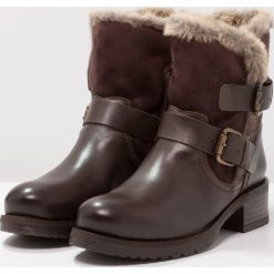 Botki damskie: Buffalo Botki kowbojki i motocyklowe sauvage nevada/nougat