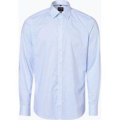 Olymp Level Five - Koszula męska łatwa w prasowaniu, niebieski. Niebieskie koszule męskie na spinki OLYMP Level Five, m. Za 199,95 zł.