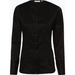 Odzież: Eterna Slim Fit - Bluzka damska – łatwa w prasowaniu, czarny