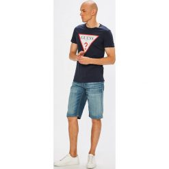 S. Oliver - Szorty. Szare spodenki jeansowe męskie S.Oliver, casualowe. W wyprzedaży za 159,90 zł.