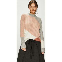 Answear - Sweter. Szare swetry klasyczne damskie ANSWEAR, l, z dzianiny. W wyprzedaży za 119,90 zł.
