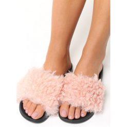 Klapki damskie: Różowe Klapki Professional Cuddler