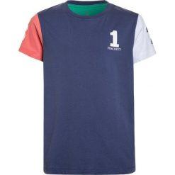 Hackett London Tshirt z nadrukiem blau. Niebieskie t-shirty chłopięce Hackett London, z nadrukiem, z bawełny. Za 149,00 zł.