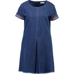 Sukienki: MAX&Co. DECANO Sukienka jeansowa blu