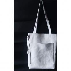 URCHYNN minimalistyczna skórzana torba shopper. Białe shopper bag damskie Pakamera, ze skóry, na ramię. Za 245,00 zł.