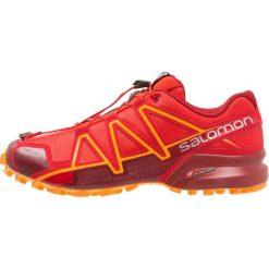 Salomon SPEEDCROSS 4  Obuwie do biegania Szlak high risk red. Czerwone buty do biegania męskie marki Salomon, z gumy, salomon speedcross. Za 549,00 zł.