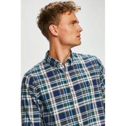 Tommy Hilfiger - Koszula. Szare koszule męskie na spinki TOMMY HILFIGER, l, w kratkę, z bawełny, button down, z długim rękawem. Za 299,90 zł.