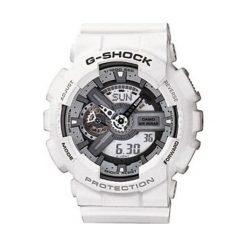 """Zegarki męskie: Zegarek """"GA-110C-7AER"""" w kolorze białym"""