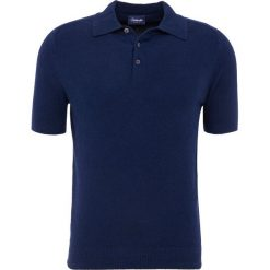 Koszulki polo: Drumohr POLO SPUGNA Koszulka polo navy